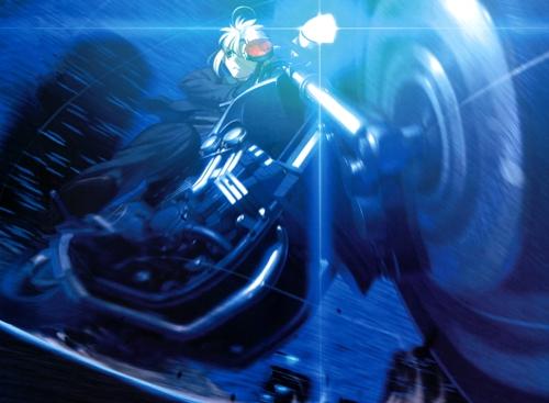 Y todavía pienso que Saber en una Harley es más pro que Shirou en UBW...